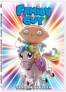 Family Guy Season 16 DVD