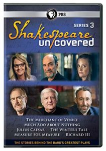 Shakespeare Uncovered Series 3 DVD cover