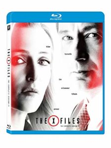 The X-Files Season 11 Blu-ray DVD cover
